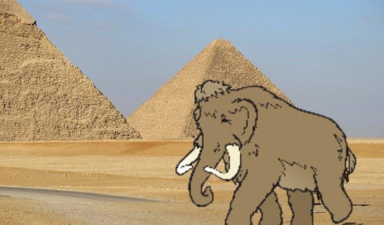 Was haben Pyramiden und Mammuts gemeinsam?